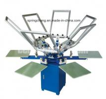Customize 6 Color  Screen Printing Machine