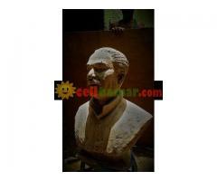 জাতির জনক শেখ মুজিবুর রহমান এর প্রতিকৃতি