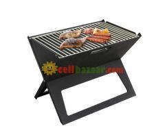 Flat-Folding Portable BBQ Charcoal Grill Maker - Image 1/5