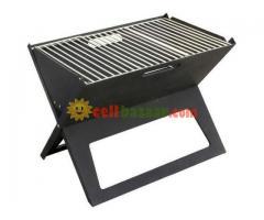 Flat-Folding Portable BBQ Charcoal Grill Maker - Image 5/5