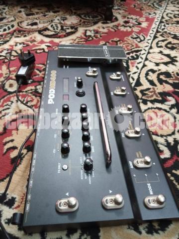 Line 6 POD HD400 Multi-Effects Guitar Effect Pedal - 1/7