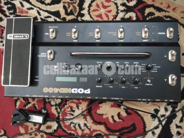 Line 6 POD HD400 Multi-Effects Guitar Effect Pedal - 3/7