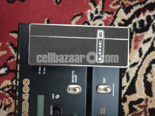 Line 6 POD HD400 Multi-Effects Guitar Effect Pedal - 4/7