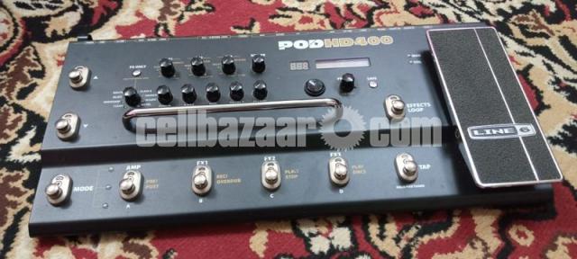Line 6 POD HD400 Multi-Effects Guitar Effect Pedal - 5/7