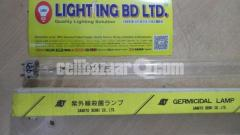 "15W UVC (Ultraviolet) T8 Tube Light, Length: 18"", SANKYO DENKI,JAPAN"