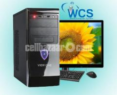INTEL CORE I3-7100 8 GB RAM 500 HDD 18.5'' LED