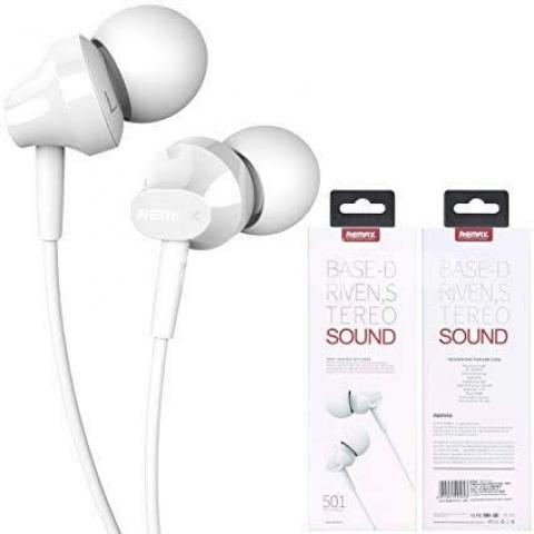 REMAX RM-501 High Performance Wired In Ear Earphone - 1/3