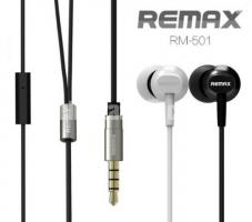 REMAX RM-501 High Performance Wired In Ear Earphone