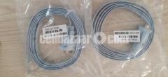 Two Console cable (rj45 to db9 female) (Original)
