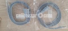 Two Console cable (rj45 to db9 female) (Original) - Image 3/4