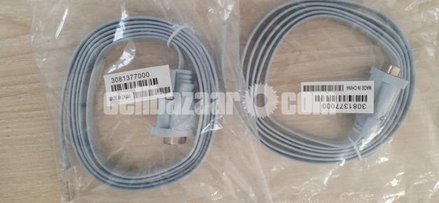 Two Console cable (rj45 to db9 female) (Original) - 4/4
