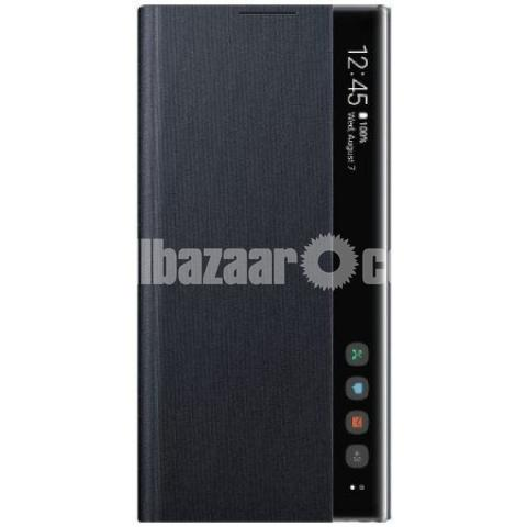 Clear view Flip Cover for Samsung Galaxy Note 10 Plus - 1/3
