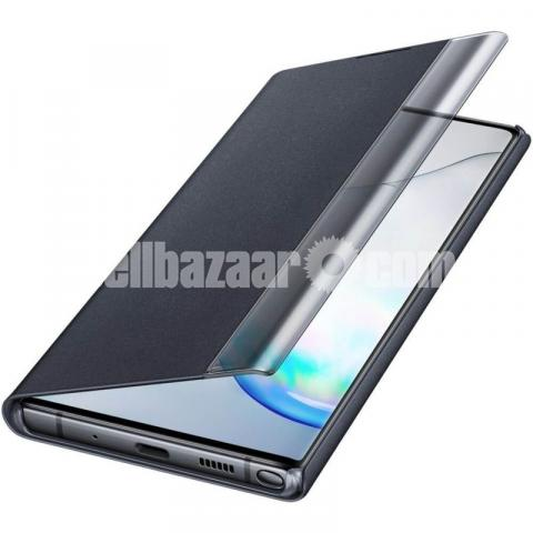 Clear view Flip Cover for Samsung Galaxy Note 10 Plus - 2/3
