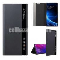 Clear view Flip Cover for Samsung Galaxy Note 10 Plus - Image 3/3
