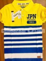 Us polo and jpn T shirt