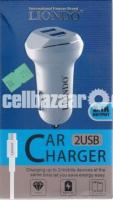 Liondo Car Charger 2 USB 3.1A
