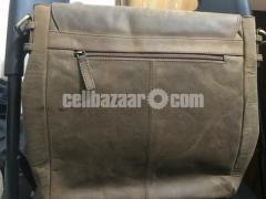 SreeLeather side bag