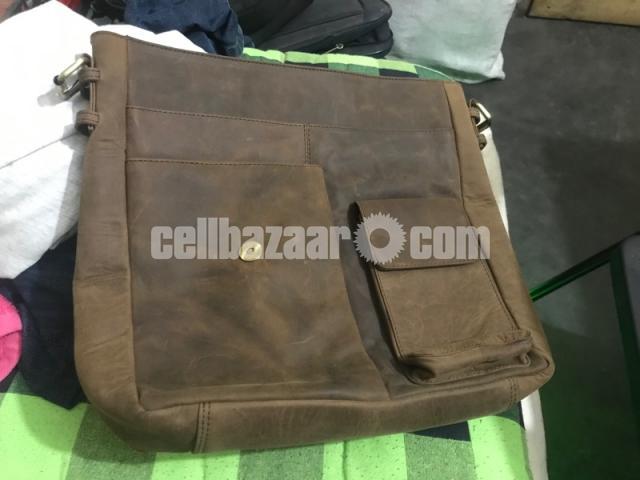 SreeLeather side bag - 4/5