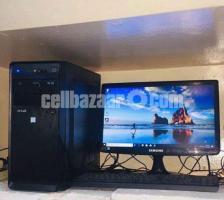 "320GB Intel Core 2 Duo offial Desktop+17"" Freash Monitor"