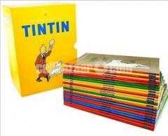 Full new Tintin Box set (still unopened) - All 23 books in English
