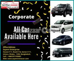 Rent A Car BD for Corporate!