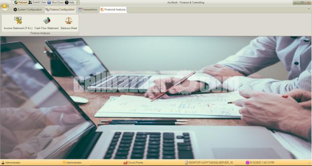 AccBook - Finance & Controlling (An Accounting Software) - 5/5