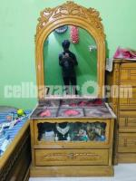 Wooden Dressing Table with Mirror for Sale