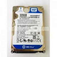 Used Western Digital Blue 320GB Laptop Sata Hard Disk