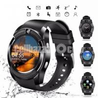 v8 smart watch android sim support Memory support