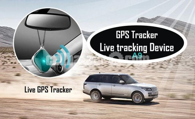 GPS Tracker Mini Live Tracking Device Magnetic APP Control with Voice Callback System - 2/6