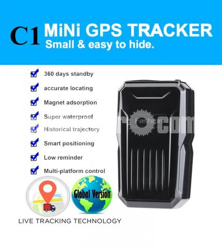GPS Tracker Mini Live Tracking Device Magnetic APP Control with Voice Callback System - 3/6