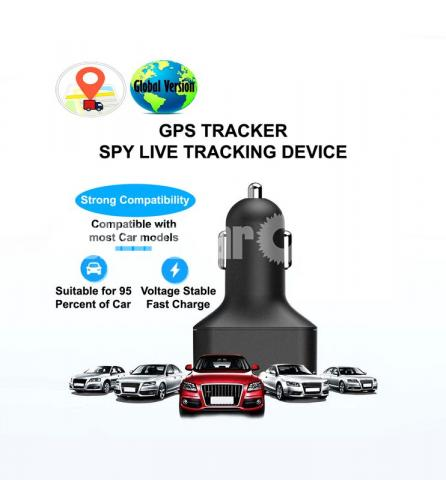 GPS Tracker Mini Live Tracking Device Magnetic APP Control with Voice Callback System - 4/6