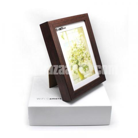 Spy Camera HD Photo Frame Wifi IP Camera Live Hidden Camcorder with Self - 6/6