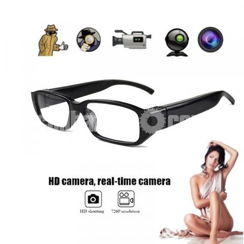 Spy Camera Digital Eyewear Glass Cam Video with Voice Recorder - 1/5