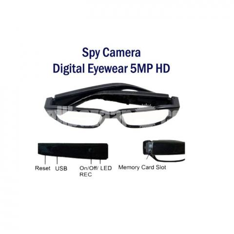 Spy Camera Digital Eyewear Glass Cam Video with Voice Recorder - 2/5