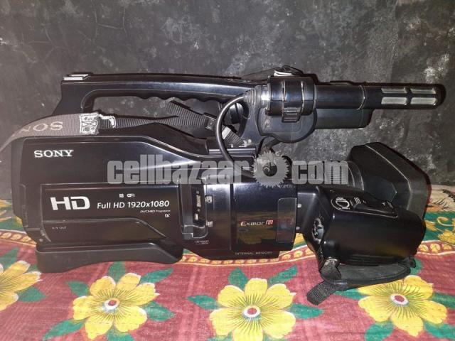 Sony HXR-MC2500 Professional Camera - 2/3