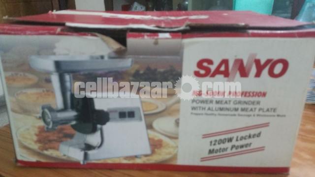 Sanyo meat grinder - 4/4