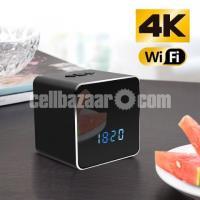 Spy Camera Bluetooth Speaker 4K Wifi IP Camera Video with Voice Recorder - Image 3/6