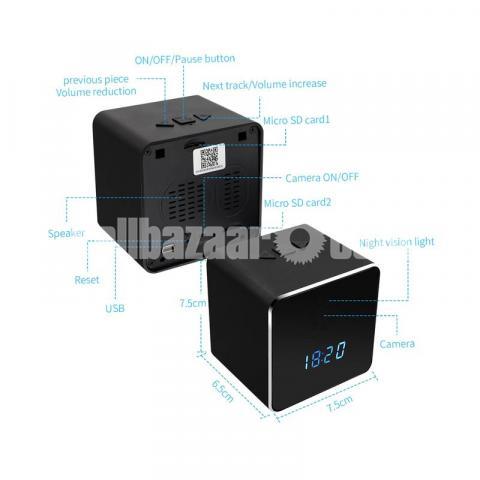 Spy Camera Bluetooth Speaker 4K Wifi IP Camera Video with Voice Recorder - 5/6