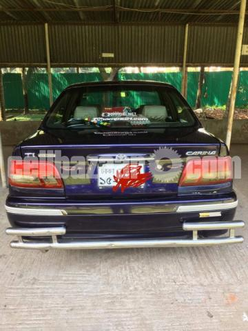 Toyota TI Carina: Army officer's Driven Car - 1/10