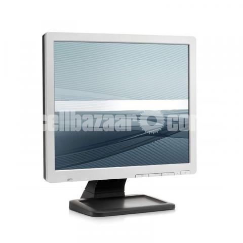 HP Compaq  17-inch LCD Monitor Full Fresh Condition - 1/6