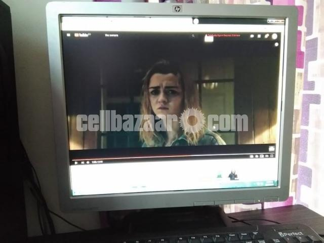 HP Compaq  17-inch LCD Monitor Full Fresh Condition - 5/6