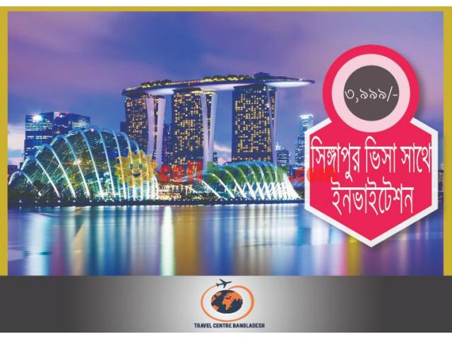 Singapore Visa With Invitation - 1/2