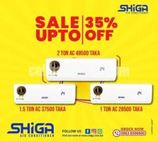 Shiga Air-Conditioner Up to 35% Discount Offer