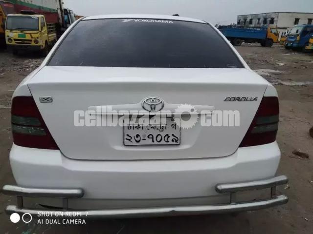 X Corolla 2003 Fresh Car - 2/6