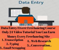 Data Entry Fiverr Freelancing Course With Special Secret Tricks...