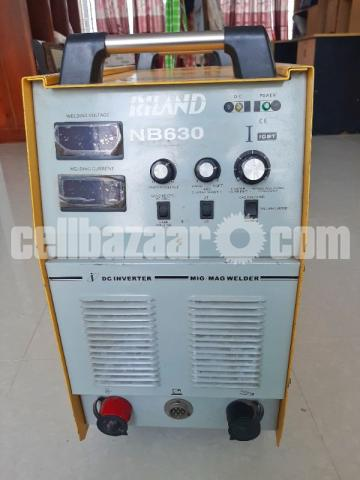 IGBT High Quality Gas Shielded Welder Machine NB 630 rilon mig welding machine - 1/4