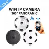 360° Panoramic 5in1 view with Night Vision Fish-Eye Wifi IP Camera