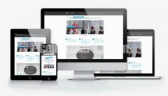 RESPONSIVE WEBSITE TEMPLATE PSD DESIGN