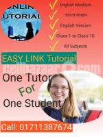 Tutors available for English medium